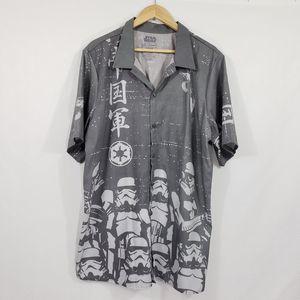 STAR WARS Stormtrooper Button Down Casual Shirt